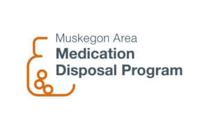Muskegon Area Medication Disposal Program Logo Full Color