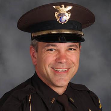 Lt. Shane Brown Portrait