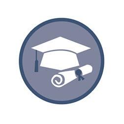 ALI Icon Grad Cap