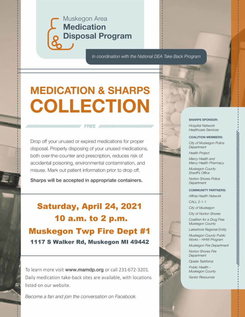Medication Disposal Event